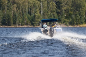 Fishing Guide Driving Bowrider