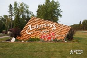 Anderson's Lodge Entrance