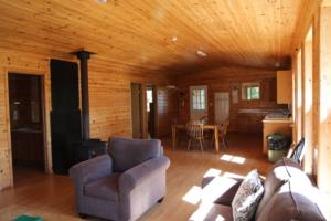 Tuktegweik Bay Cabin Interior