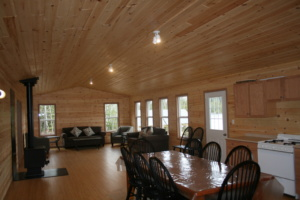 Tom's Landing Cabin Interior