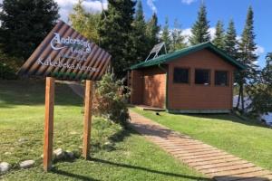 Kakebeka Narrows Sign & Fish House