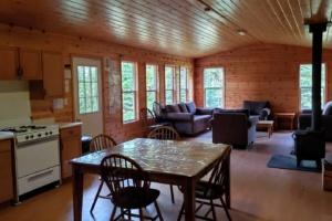 Kakebeka Narrows Cabin Interior