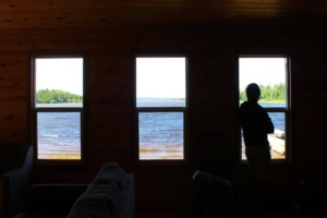 Pickerel Narrow's Outpost View From Cabin